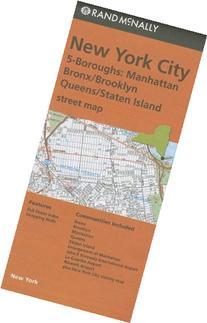Rand McNally Folded Map: New York City 5 Boroughs
