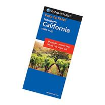 Rand McNally Easy to Fold: Northern California