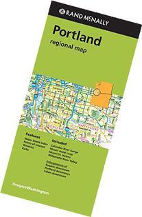 Rand Mcnally Portland Regional Map