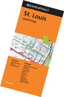 Rand McNally: Folded Map: St. Louis Street Map