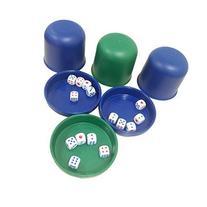 SmartDealsPro Randome Color Mini Professional Dice Roller