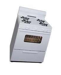 """Premier Range SFK290OP White 30"""" Freestanding Open Burner"""
