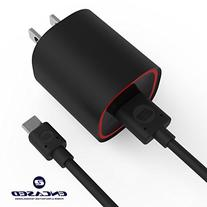 Rapid 2.1A Wall Charger with Micro USB Flashlight Cable By