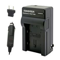 Kapaxen Rapid Battery Charger Kit for BN-VG107U / BN-VG108U