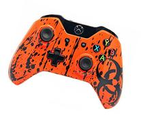 """Toxic Orange"" Xbox One Rapid Fire Modded Controller 40 Mods"