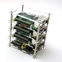 GeauxRobot Raspberry Pi 3 Model B 4-layer Dog Bone Stack