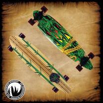 PARADISE Rasta Bamboo 3 Complete Longboard