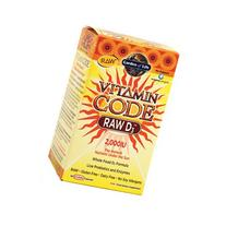 Garden of Life Vitamin Code - RAW D3 -- 120 Capsules