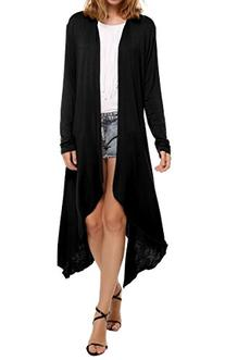 Meaneor Women's Rayon Span Super Comfortable Basic Cardigan