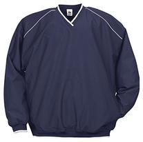 Badger Sportswear Adult Razor Windshirt, Navy/White, X-Small