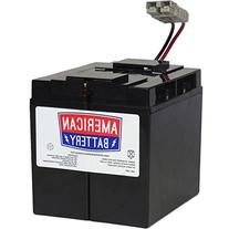 RBC7 UPS Replacement Battery  for APC By American Battery