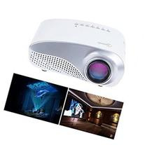 Taotaole RD-802 24W LED HD Home Mini Projector w HDMIVGAUSB