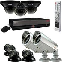 Revo Professional Surveillance Security System with 16-