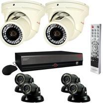 REVO America Surveillance System with 16-Channel 4TB DVR, 4