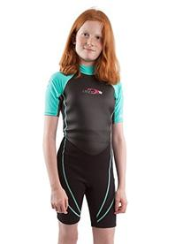 O'Neill Reactor Hybrid Neoprene/Lycra Shorty Kids Wetsuit