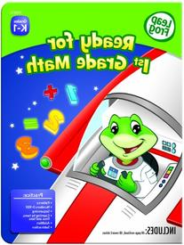 LeapFrog Ready for 1st Grade Math Workbook with 60 Pages and