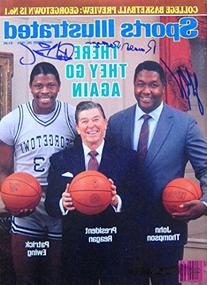 Reagan, Ronald & Ewing, Patrick & Thompson, John 11/26/84