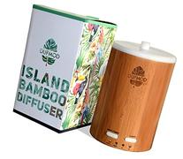 DUFMOD 150ml Real Bamboo Wood Diffuser for essential oils,