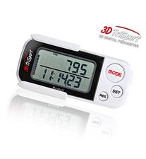 Realalt 3DTriSport 3D Pedometer with Clip, Strap and eBook,