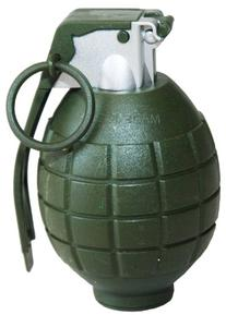 Battle Force Realistic Sounding Grenade with Pin