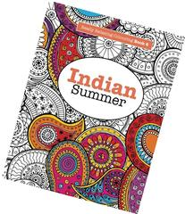 Really RELAXING Colouring Book 6: Indian Summer: A Jewelled
