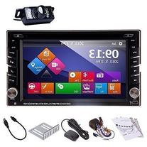 Ouku In-Dash Double-DIN Car Dvd Player with Touch Screen Lcd