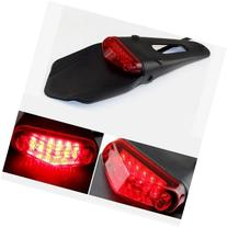 BADASS SHARKS Rear Fender LED Brake Red Tail Light Dirt Bike