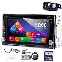 GPS Navigator Car Auto radio 2 DIN In Dash Car DVD Player