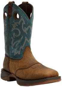 Durango Men's Rebel DB016 Western Boot,Tan/Navy,11 M US