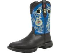 DB023 Durango Men's Rebel FFA Western Boots - Blue/Brown -