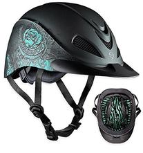 TROXEL REBEL LOW PROFILE WESTERN RIDING HELMET SEI / ASTM