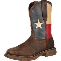 Rebel by Durango Steel Toe Texas Flag Western Boots, TEXAS