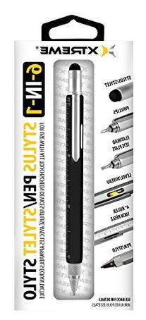 Rebelite 6-in-1 Combo Versatile Universal Stylus Pen for