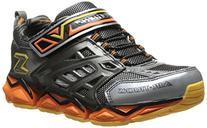 Skechers Kids 95826L Receptor Sneaker ,Charcoal/Orange,1 M
