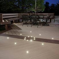 LED Recessed DekDot Lights - 4 pack for indoor/outdoor use