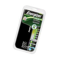 Energizer Recharge Universal Charger charges 8 AA/AAA, 4 C/D