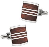 Cuff-Daddy Reclaimed Recycled Wood Cufflinks