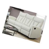 Reclining Sofa, Ivory