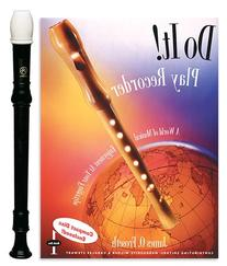 Angel 1-Piece Recorder Pack with Do it! Recorder Book/CD by