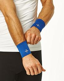 Tommie Copper Men's Recovery Affinity Wrist Sleeve, Cobalt