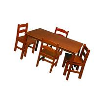 Gift Mark Rectangle Table and Chair Set