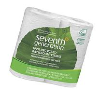 Seventh Generation 100 Percent Recycled Bathroom Tissue - 4