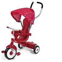 Red 4-In-1 Trike with 3 Point Harness