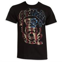 Gas Monkey Red, White And Blue Men's Tee Shirt