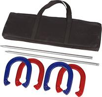 Trademark Innovations Red and Blue Powder Coated Steel Pro