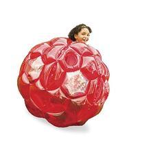 Red Bright Lights BBOP Buddy Bumper Ball Confetti Filled