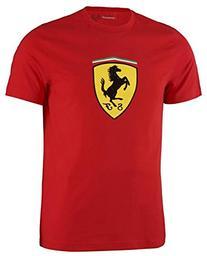 Ferrari Red Shield Classic Tee Shirt