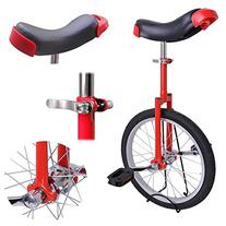 "AW Red 18"" Inch Wheel Unicycle Leakproof Butyl Tire Wheel"