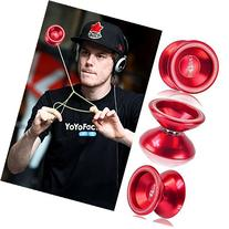 Red Fashion Magic YoYo T5 Overlord Aluminum Professional Yo-