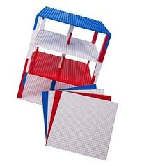 Premium Red, White, and Blue Patriotic Stackable Base Plates